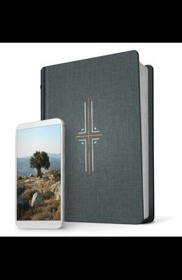Filament Bible NLT (Hardcover Cloth, Gray, Indexed): The Print+digital Bible