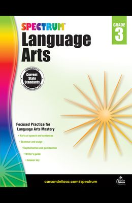 Spectrum Language Arts, Grade 3