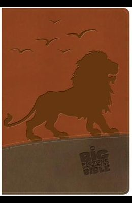 The NKJV Big Picture Interactive Bible, Lion Leathertouch