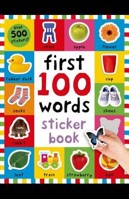 First 100 Stickers: Words: Over 500 Stickers