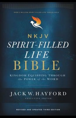 NKJV, Spirit-Filled Life Bible, Third Edition, Hardcover, Red Letter Edition, Comfort Print: Kingdom Equipping Through the Power of the Word