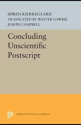 Concluding Unscientific PostScript