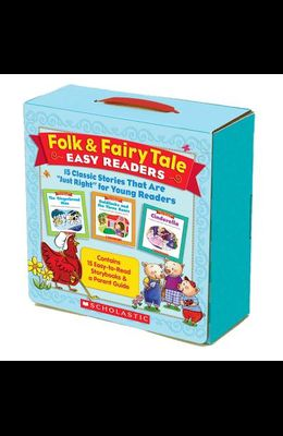 Folk & Fairy Tale Easy Readers (Parent Pack): 15 Classic Stories That Are just Right for Young Readers