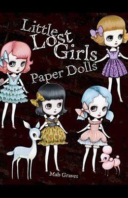 Little Lost Girls Paper Dolls