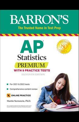AP Statistics Premium: With 9 Practice Tests