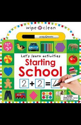 Wipe Clean: Starting School
