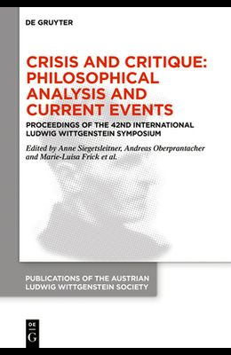 Crisis and Critique: Philosophical Analysis and Current Events