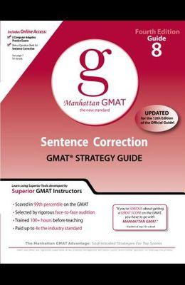 Sentence Correction GMAT Strategy Guide