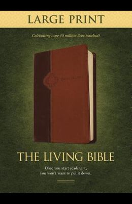 Living Bible-LIV-Large Print
