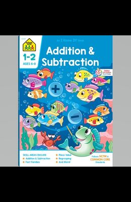 Addition & Subtraction 1-2 Deluxe Edition Workbook