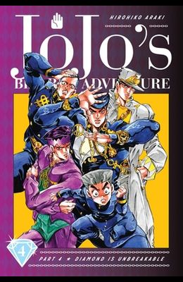 Jojo's Bizarre Adventure: Part 4--Diamond Is Unbreakable, Vol. 4, Volume 4