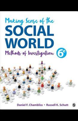 Making Sense of the Social World: Methods of Investigation