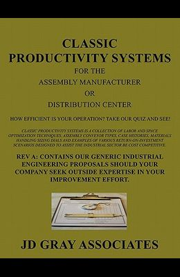 Classic Productivity Systems for the Assembly Manufacturer or Distribution Center: How Efficient Is Your Operation? Take Our Quiz and See!