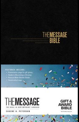 The Message Gift and Award Bible