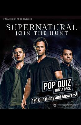 Supernatural Pop Quiz Trivia Deck