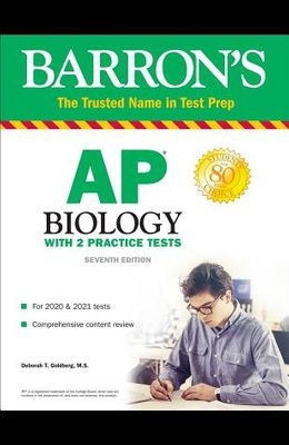 AP Biology: With 2 Practice Tests