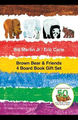 Brown Bear & Friends 4 Board Book Gift Set