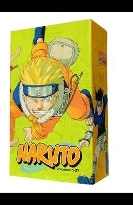 Naruto Box Set 1: Volumes 1-27 with Premium, Volume 1: Volumes 1-27 with Premium
