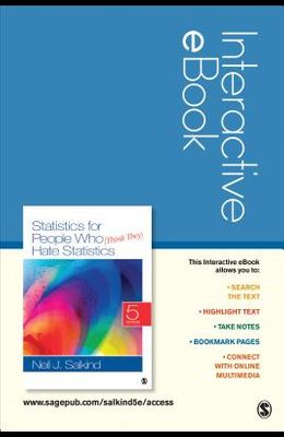 Statistics for People Who (Think They) Hate Statistics Interactive eBook