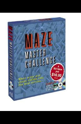 Maze Master Challenge [With CDROM and 3 Books and Poster]