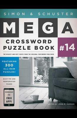 Simon & Schuster Mega Crossword Puzzle Book #14