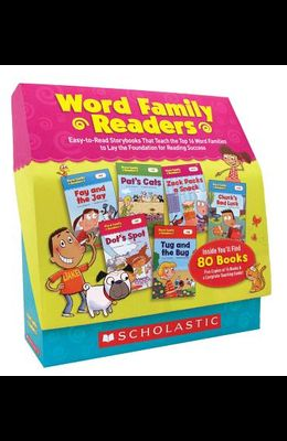 Word Family Readers Set: Easy-To-Read Storybooks That Teach the Top 16 Word Families to Lay the Foundation for Reading Success
