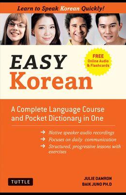Easy Korean: Learn to Speak Korean Quickly! (Free Online Audio & Flashcards)