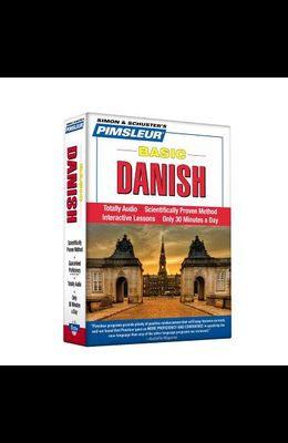 Pimsleur Danish Basic Course - Level 1 Lessons 1-10 CD, Volume 1: Learn to Speak and Understand Danish with Pimsleur Language Programs