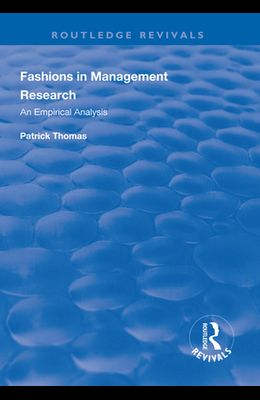 Fashions in Management Research: An Empirical Analysis