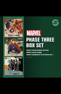Marvel's Phase Three Box Set: Marvel's Captain America: Civil War; Marvel's Doctor Strange; Marvel's Guardians of the Galaxy, Vol. 2
