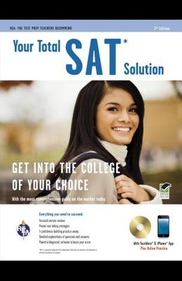 Sat(r) W/CD: Your Total Solution [With CDROM]