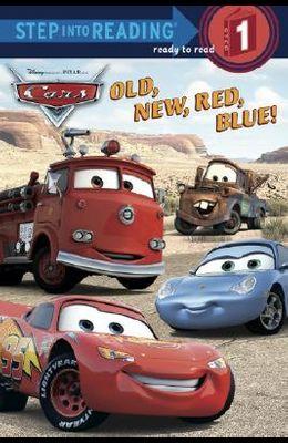 Old, New, Red, Blue! (Disney/Pixar Cars)