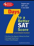 7 Days to a Better SAT(R) Score: 2nd Edition