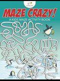 Maze Crazy! a Kids Maze Activity Book