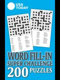USA Today Word Fill-In Puzzles Super Challenge