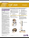 CPT 2020 Express Reference Coding Card: Orthopaedics