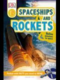 DK Readers L2: Spaceships and Rockets: Relive Missions to Space