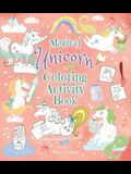 Magical Unicorn Coloring Activity Book