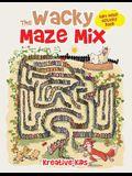 The Wacky Maze Mix: Kids Maze Activity Book