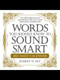 Words You Should Know to Sound Smart 2021 Daily Calendar