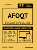 Afoqt Full Study Guide: Complete Subject Review with Online Videos, 5 Full Practice Tests, Realistic Questions Both in the Book and Online Plu