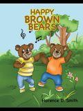 Happy Brown Bears