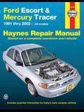 Haynes Ford Escort & Mercury Tracer 1991 Thru 2002: All Models