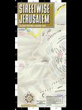 Streetwise Jerusalem Map - Laminated City Center Street Map of Jerusalem, Israel