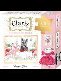 Claris Book & 60 Piece Puzzle Set