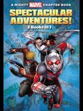 A Mighty Marvel Chapter Book Spectacular Adventures!: 3 Books in 1! (A Marvel Chapter Book)