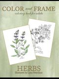 Color and Frame: Herbs