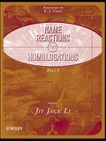 Name Reactions for Homologation, 2 Part Set
