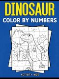 Dinosaur Color By Numbers
