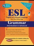 ESL Intermediate/Advanced Grammar (English as a Second Language Series)
